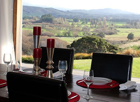 Gallin Farmstay dining room - homestay BnB