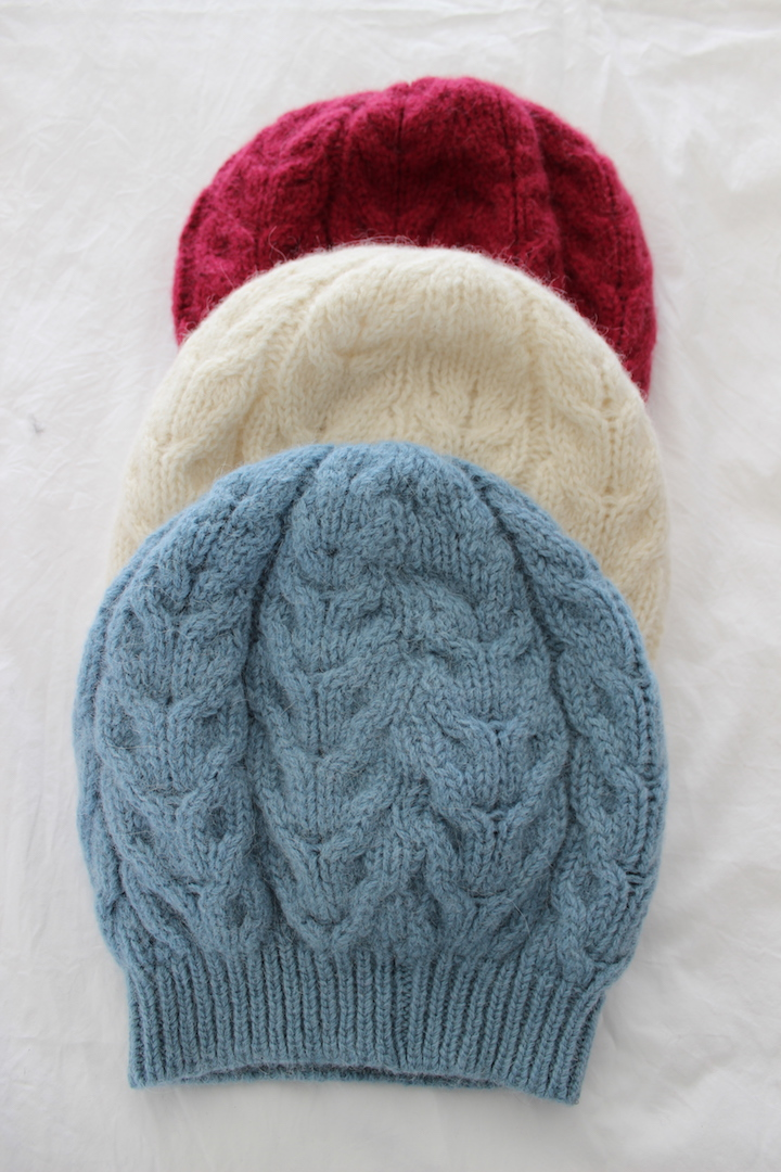 Cable Beanies
